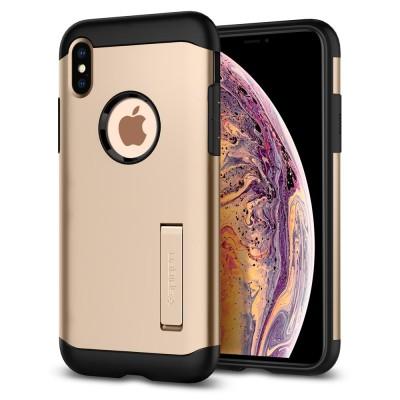 Spigen iPhone Xs Max Slim Armor Gold (065CS25154)