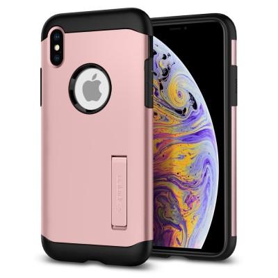 Spigen iPhone Xs Max Slim Armor Rose Gold (065CS25157)