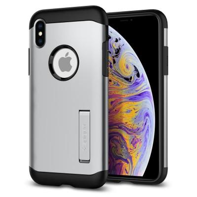 Spigen iPhone Xs Max Slim Armor Satin Silver (065CS25159)