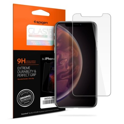 Spigen iPhone Xs Max GLAS.tR SLIM HD (065GL24540)