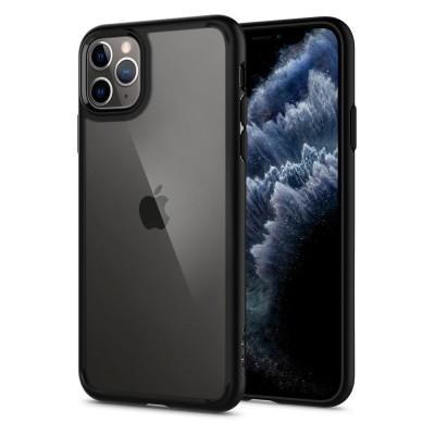 Spigen iPhone 11 Pro Max Ultra Hybrid Matte Black (075CS27136)