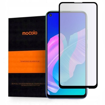 Mocolo TG+ Full Glue Tempered Glass - Fullface Αντιχαρακτικό Γυαλί Huawei - P40 Lite E - Black