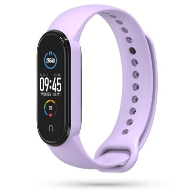 Tech-Protect Iconband Λουράκι Σιλικόνης για Xiaomi Mi Band 5 - Purple (200-105-905)