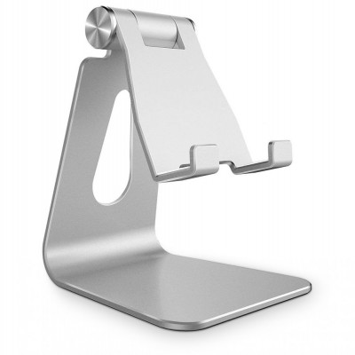 Tech-Protect Universal Stand Holder Z4A - Βάση Αλουμινίου για Smartphone - Silver (200-105-929)