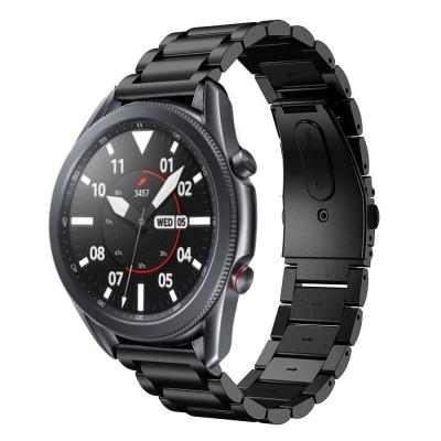 Tech-Protect Stainless Steel Watch Bracelet Black για Samsung Galaxy Watch 3 45mm (200-105-926)