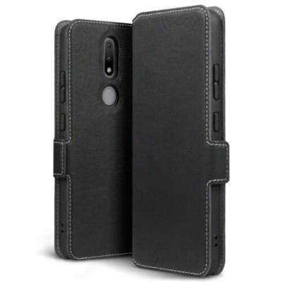 Terrapin Low Profile Θήκη - Πορτοφόλι Nokia 2.4 - Black (117-001-327)
