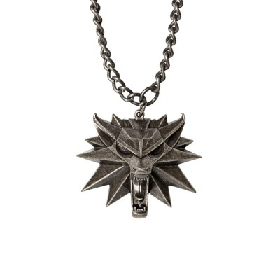 Jinx Witcher Medallion and Chain Necklace