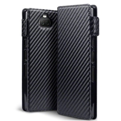 Terrapin Θήκη - Πορτοφόλι Sony Xperia 10 - Carbon Fibre Black (117-005-649)