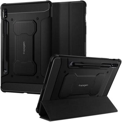 """Spigen Θήκη Rugged Armor Pro Samsung Galaxy Tab S7 11"""" T870 / T875 - Black (ACS01604)"""