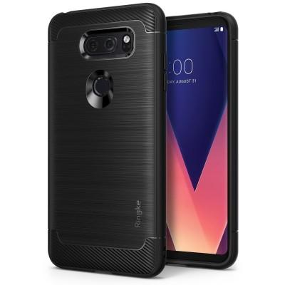 Ringke Onyx Θήκη LG V30 - Black (RGK582BLK)