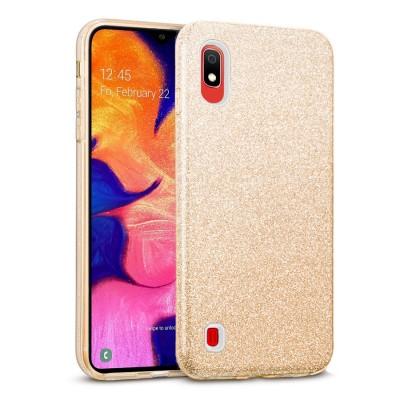 Shining Glitter Case για Samsung Galaxy A10 - Gold (200-103-831)