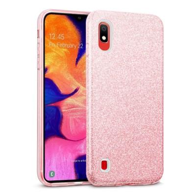 Shining Glitter Case για Samsung Galaxy A10 - Pink (200-103-830)