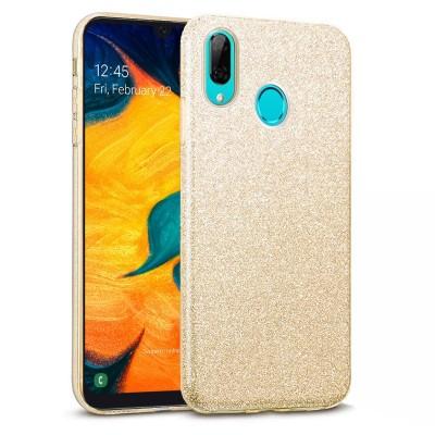 Shining Glitter Case για Samsung Galaxy A30 - Gold (200-103-829)