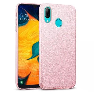 Shining Glitter Case για Samsung Galaxy A40 Ροζ -OEM (200-103-827)