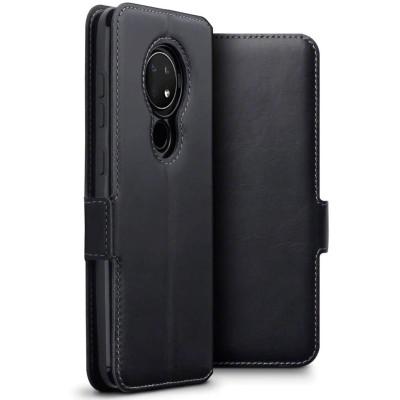 Terrapin Low Profile Δερμάτινη Θήκη - Πορτοφόλι Nokia 6.2/7.2 - Black (117-001-322)