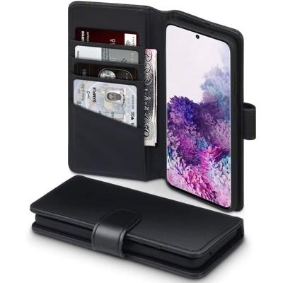 Terrapin Δερμάτινη Θήκη - Πορτοφόλι Samsung Galaxy S20 - Black (117-002a-224)
