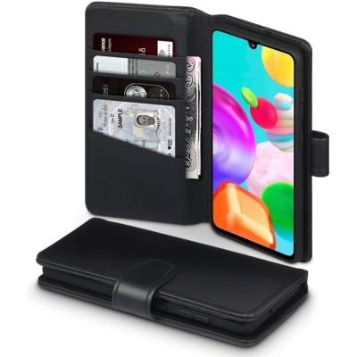 Terrapin Δερμάτινη Θήκη - Πορτοφόλι Samsung Galaxy A41 - Black (117-002a-277)