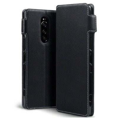 Terrapin Low Profile Θήκη - Πορτοφόλι Sony Xperia 1 - Black (117-005-660)
