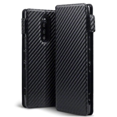 Terrapin Θήκη - Πορτοφόλι Sony Xperia 1 - Carbon Fibre Black (117-005-661)