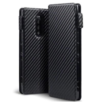 Terrapin Θήκη - Πορτοφόλι Sony Xperia 1 - Carbon Fibre Black (117-005-661)