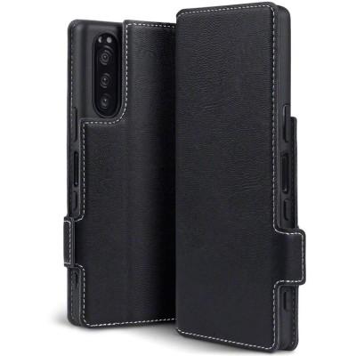 Terrapin Low Profile Θήκη - Πορτοφόλι Sony Xperia 5 - Black (117-005-669)