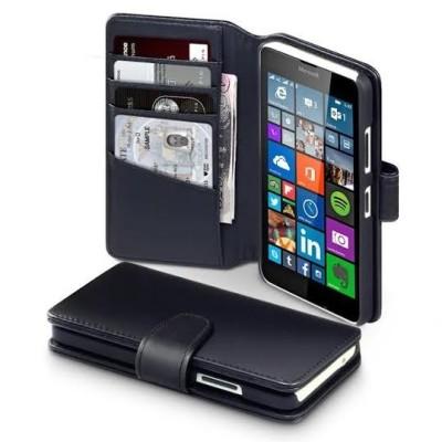 Δερμάτινη Θήκη Microsoft Lumia 435 - Πορτοφόλι