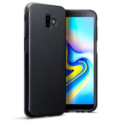 Terrapin Θήκη Σιλικόνης Samsung Galaxy J6 Plus 2018 - Black (118-002-737)