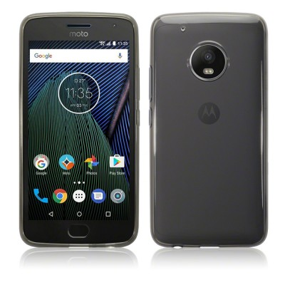 Terrapin Θήκη Σιλικόνης Motorola Moto G5 Plus - Smoke Black (118-003-033)