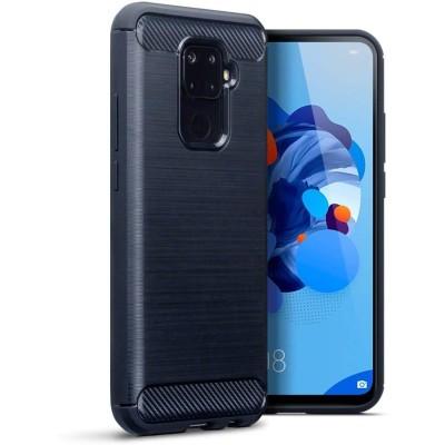 Terrapin Θήκη Σιλικόνης Carbon Fibre Huawei Mate 30 Lite - Blue