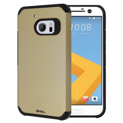 Dual Armor Θήκη για HTC 10 χρυσή by Shieldtail