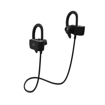 Celly Ακουστικά Bluetooth Sport Stereo Earphone - Black (BHSPORTPROBK)