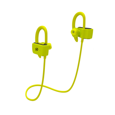 Celly Ακουστικά Bluetooth Sport Stereo Earphone - Yellow (BHSPORTPROYL)