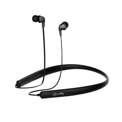 Celly Bluetooth Neck Band - Black (BHNECKBK)