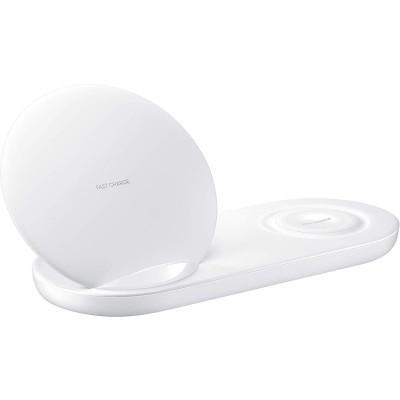 Samsung Wireless Charger Duo Ασύρματος Φορτιστής Qi - White (EP-N6100TWEGWW)
