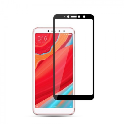 Vivid Full Face Tempered Glass Xiaomi Redmi S2 Black - (VITEMP55BK)