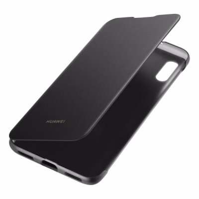 Huawei Official Flip Wallet - Θήκη Huawei Y6 2019 - Black (51992945)