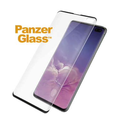 PanzerGlass Tempered Glass Fingerprint Samsung Galaxy S10+ Black (13013581)
