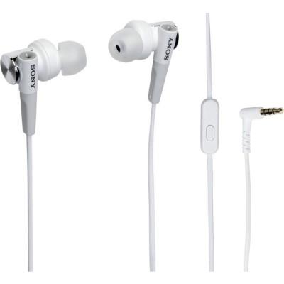 Sony Ακουστικά Handsfree MDRXB50AP - White (MDRXB50APW.CE7)