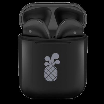 PinePods True Wireless Earbuds Ασύρματα Ακουστικά - Black (PP-590039)