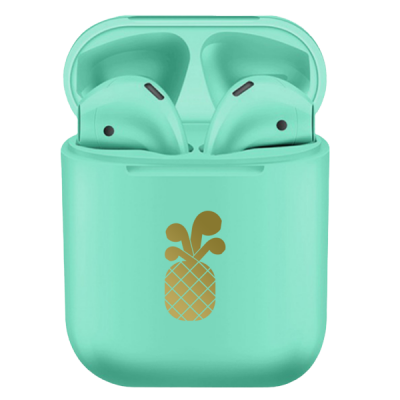 PinePods True Wireless Earbuds Ασύρματα Ακουστικά - Green Marble (PP-590060)