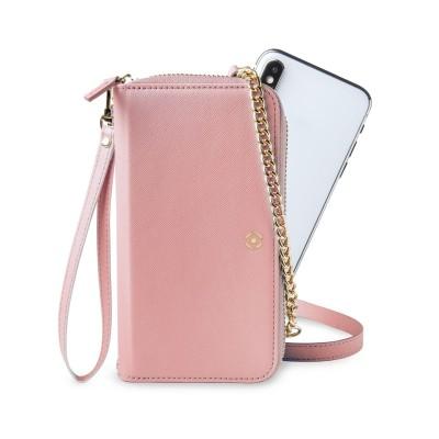 Celly Venere Θήκη - Πορτοφόλι για Smartphones έως 6.5'' - Pink (VENEREPK)