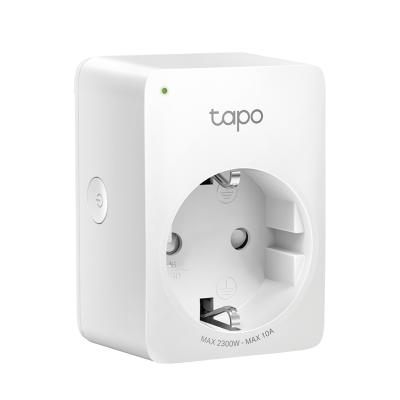 TP-Link Wifi Smart Plug Tapo P100 - Έξυπνη Πρίζα Διαχείρισης Συσκευών - White (TapoP100)