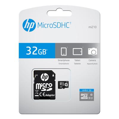 13015393HP MicroSDHC 32GB U1 Με Αντάπτορα - Βlack (200-106-055)
