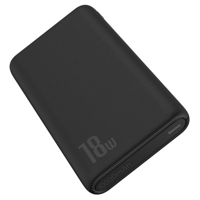 Baseus Powerbank PD+QC 10000mAh 2 x USB / Type-C - 18W - Black (PPDML-D01)