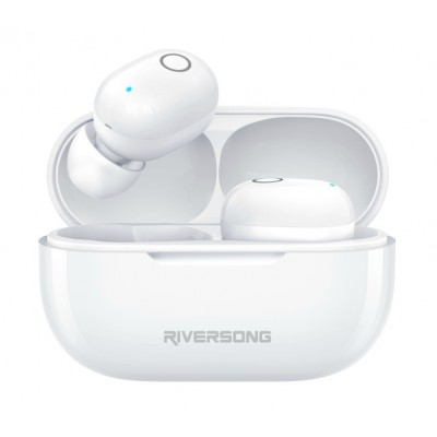 Riversong True Wireless Earbuds Air X19 White (200-105-911)