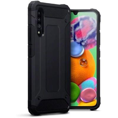 Terrapin Ανθεκτική Θήκη Double Layer Impact Samsung Galaxy A90 5G - Black (131-002-202)