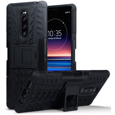 Terrapin Ανθεκτική Rugged Θήκη Sony Xperia 1 - Black (131-005-087)