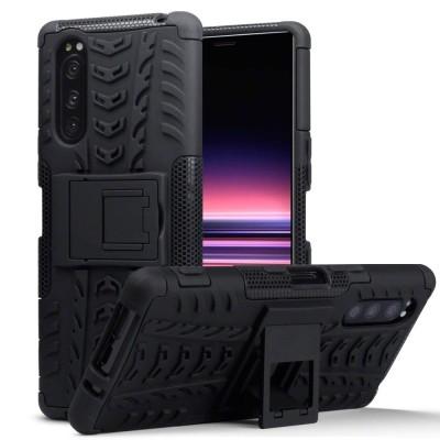 Terrapin Ανθεκτική Rugged Θήκη Sony Xperia 5 - Black (131-005-093)