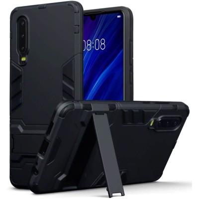 Terrapin Ανθεκτική Dual Layer Θήκη Huawei P30 - Black (131-083-105)