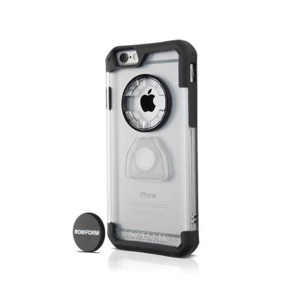 Rokform Θήκη iPhone 6/6S V3 Crystal Case με Μαγνητική Βάση Αυτοκινήτου - Crystal Orange